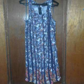 Flowers and Pleats Dress (ON HOLD)