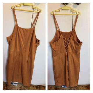 Mustard Tight Dress