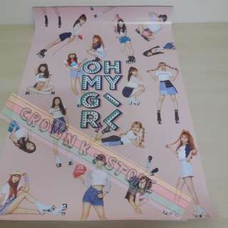 [READY STOCK]OH MY GIRL KOREA OFFICIAL POSTER 1PC SHIP USING TUBE (PRICE NOT INCLUDE POSTAGE)(PLEASE READ DETAILS FOR MORE INFO)