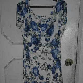 🔴Vintage-style Floral Dress (L-XL) (ON HOLD)