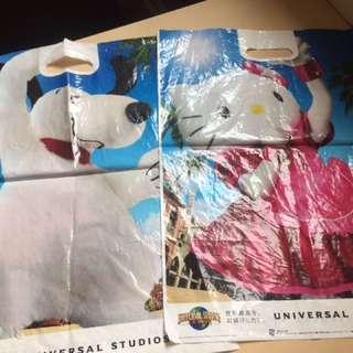 🚚 日本迪士尼大阪專賣店袋子(共6個)