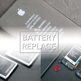Iphone/Samsung Battery Replacement