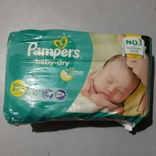 Pampers Baby Dry Newborn 40pcs