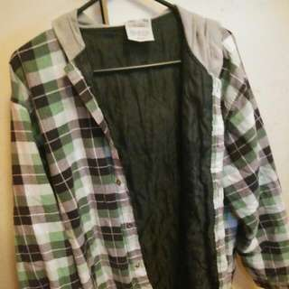 Green Flannel Jacket