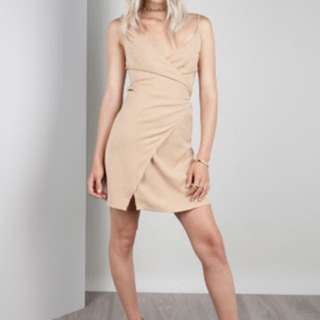 Zachary The Label Wrap Dress Mini