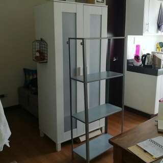 Bundle: Ikea Aneboda Wardrobe + Ikea shelving Hyllis
