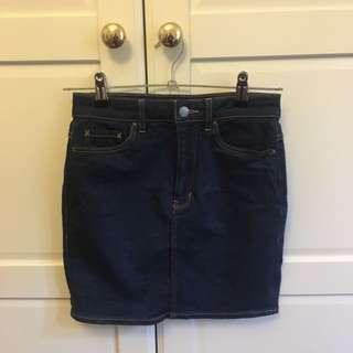 Lee - Blue Sonic Denim Skirt