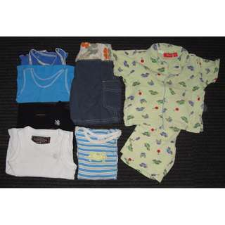 Boys Mixed Clothing Lot Size 0-1