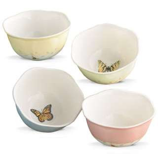 Butterfly Meadow® 4-piece Dessert Bowl Set by Lenox 791720