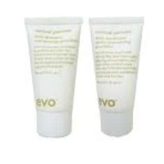 Evo normal persons shampoo and conditioner 30ml EACH NEW AUTH