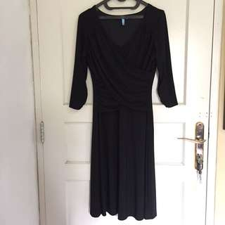 Black Long Dress (Gaun Malam)