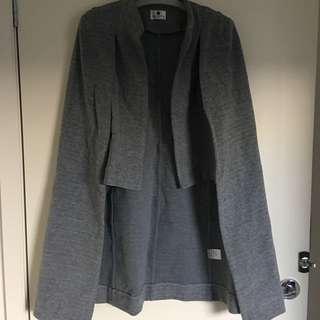Grey Cape Coat Size 6