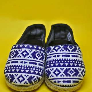 Blue Jeans Pattern Espadrilles Shoes Boy/Girl