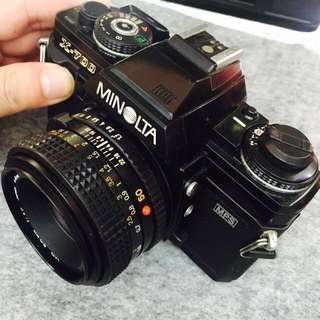 EXC+ Minolta X-700 with MD 50mm f1.7 Lens Vintage 35mm Film Camera