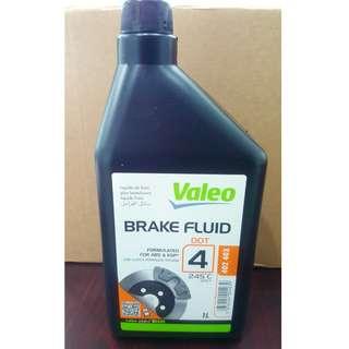 VALEO DOT 4 BRAKE FLUID