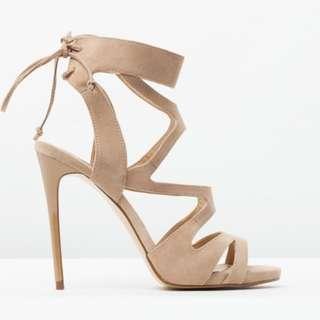Women's Siren Kanye High Heels Light Tan Leather