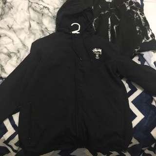 Stussy Black Spray Jacket