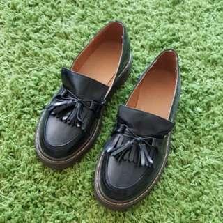 厚底牛津鞋