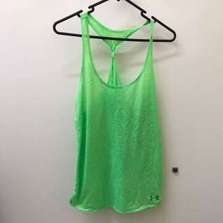UNDER ARMOUR SINGLET SIZE 8