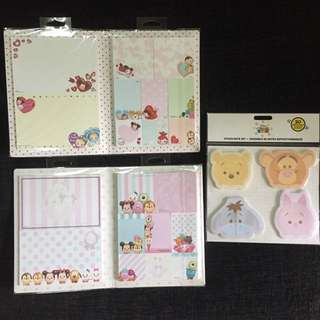 Instock Disney Tsum Tsum Sticky Note Post It Pad