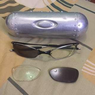 Kacamata Oakley Wiretap Titanium Ori