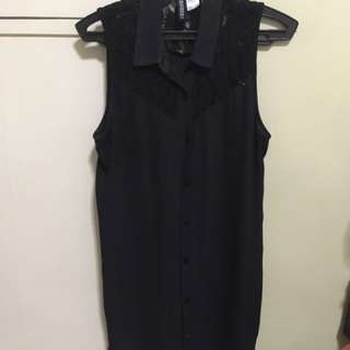 Sleeveless Blouse fr H&M
