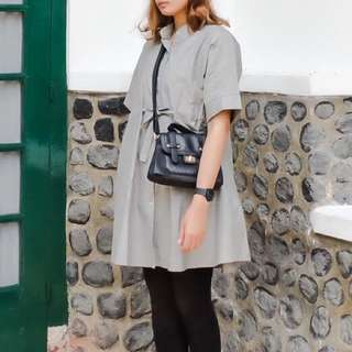 Oversized Grey Shirt