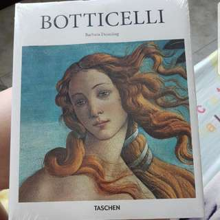BN SEALED BOTTICELLI HARDCOVER ART BOOK