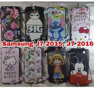 Case with Tempered J7 2015/2016