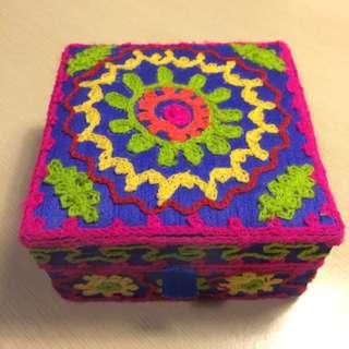 Ishka Embroidery Jewellery Box