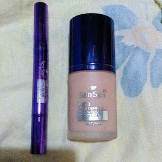 Authentic San San HD Foundation And Concealer 280 For Both