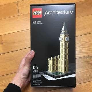 "Lego Architecture ""Big Ben"""