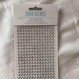 Glitter Boobs Gems