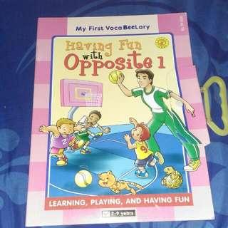 buku anak anak..english text. good condition