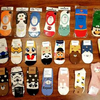 Selling cute socks from Korea!