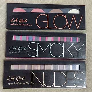 LA Girl beauty brick eyeshadow&blush&contour