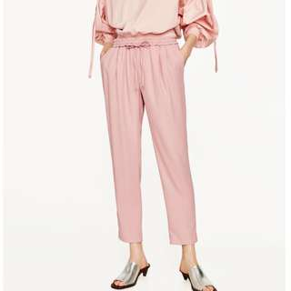 Zara Pink Trousers