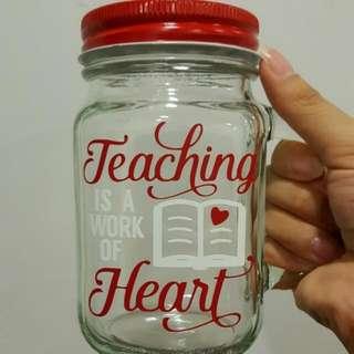 Teacher's Day Mason Jar