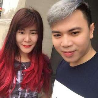 Jasa Hair Coloring