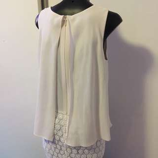 Bariano Cream Dress Size 6