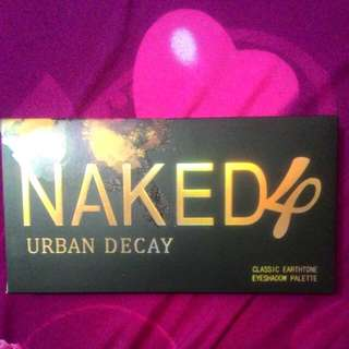Eyeshadow Pallete Naked 4