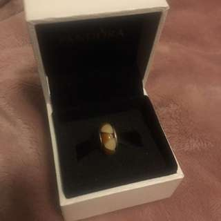 Authentic glass Pandora charm
