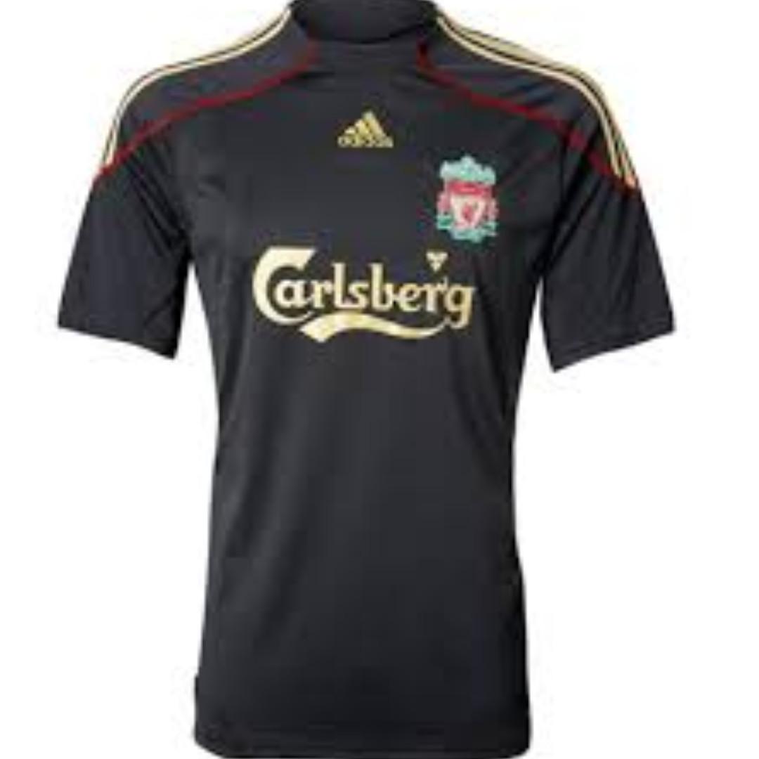 9a1d6445d Pre-loved Original 2009 2010 Away Adidas Liverpool 2XL Shirt