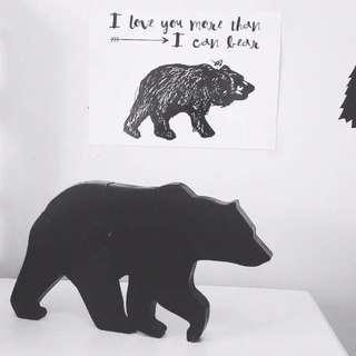 Black Bear Shelfie