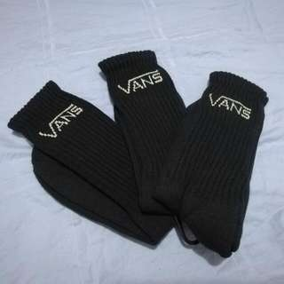 Vans Plain Black Socks