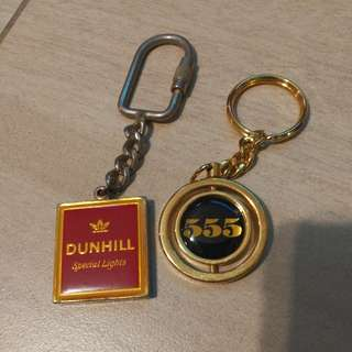 登喜路555 金屬匙扣