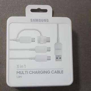 3in1 Multi Charging Cable 1.3m