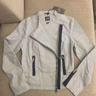 BNEW Armani Exchange Biker Jacket