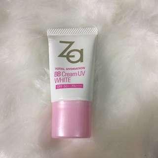 Za Total Hydration BB Cream UV white