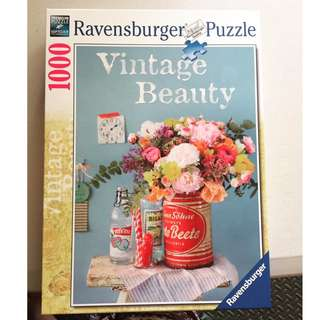 Ravensburger Puzzle - Vintage Beauty 1000 pcs